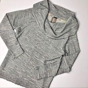 Anthropologie Dolan Cowl Neck Textured Sweater